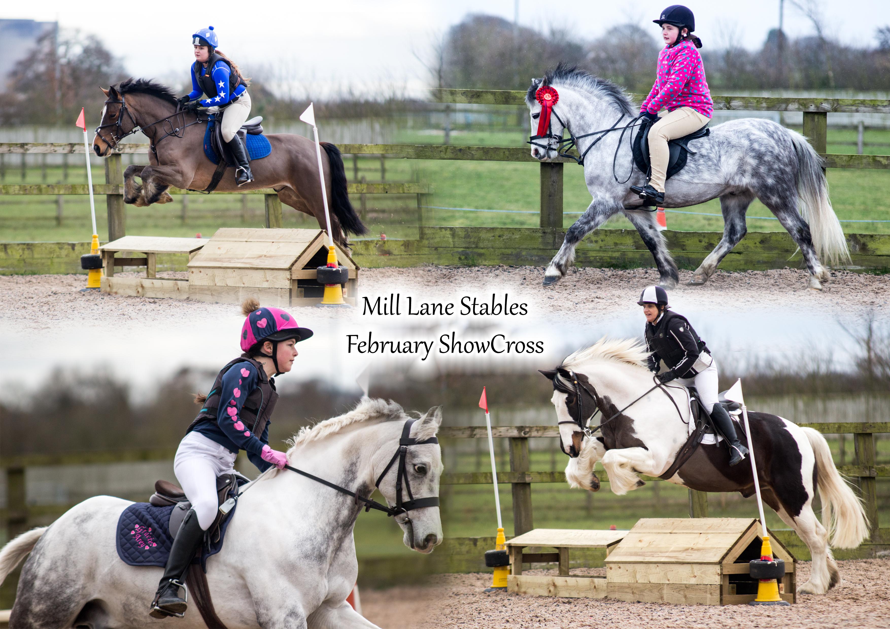 Mill Lane February ShowCross