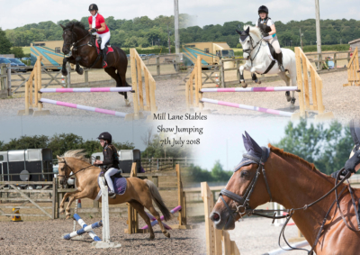 Mill Lane Stables Show Jumping