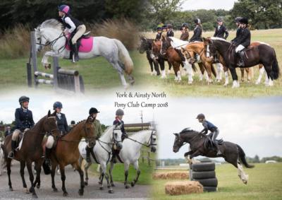 York & Ainsty North Pony Club Senior Camp 2018
