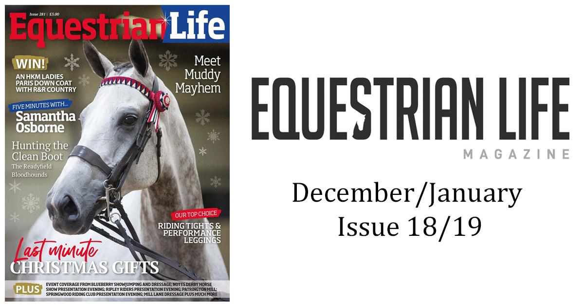 Equestrian Life Magazine- December Issue