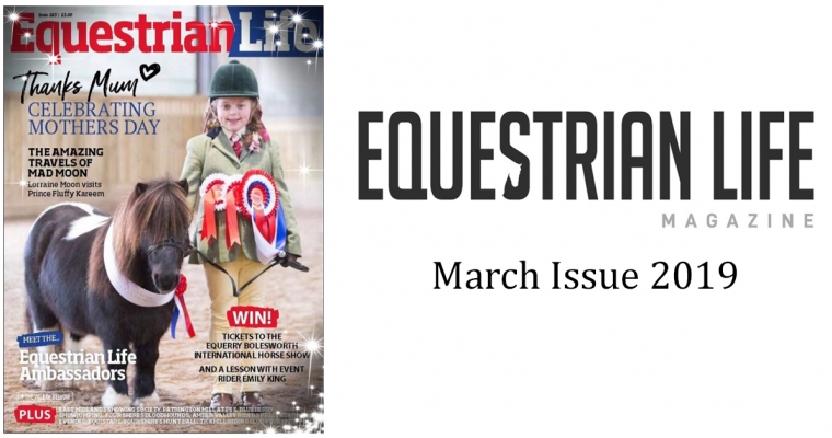 Equestrian Life Magazine – March Issue (SOLD OUT)