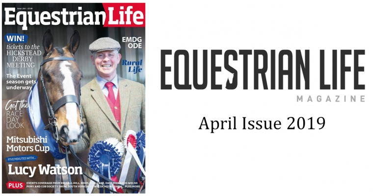 Equestrian Life Magazine – April Issue