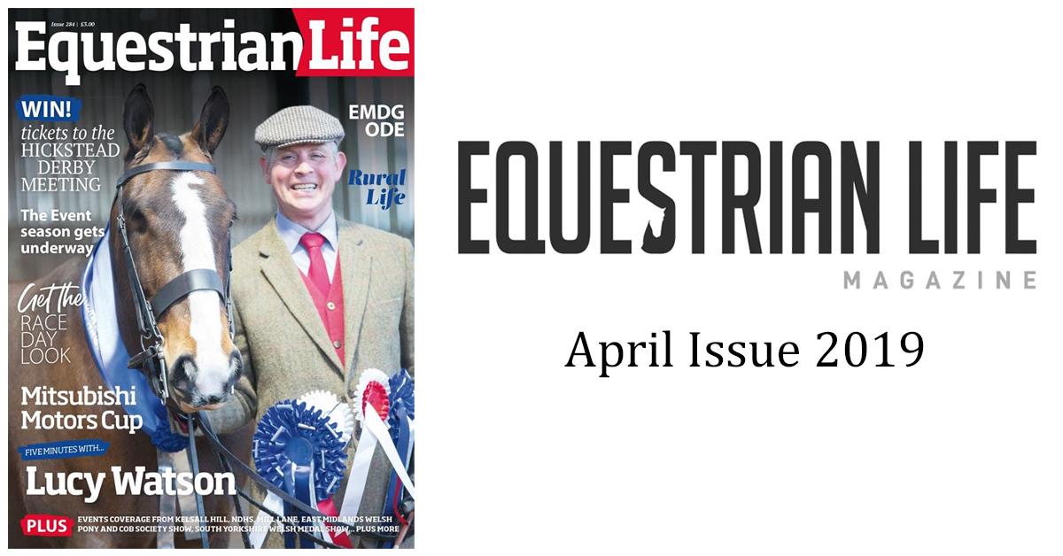 Equestrian Life Magazine – April Issue