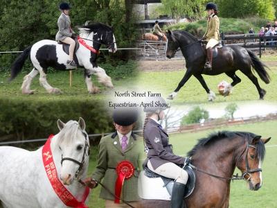 North Street Farm Equestrian – April Show