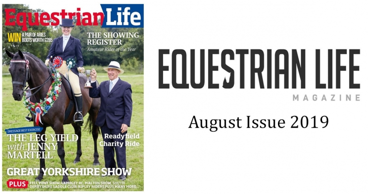 Equestrian Life Magazine – August Issue