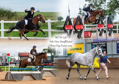 The BETTALife Unaffiliated Three Day Event at Vale View EC