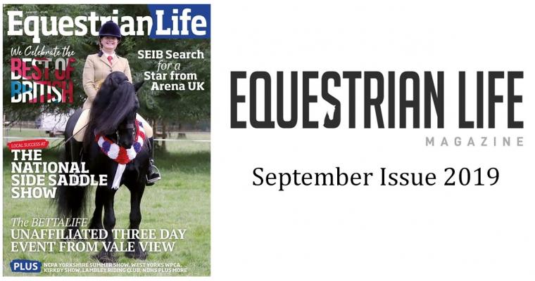 Equestrian Life Magazine – September Issue