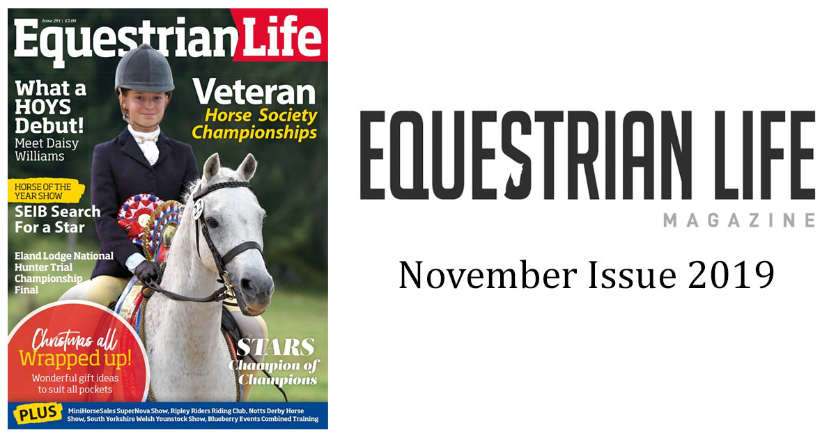 Equestrian Life – November Issue