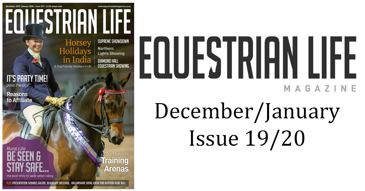 Equestrian Life Magazine – December/January