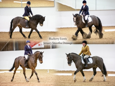 Blueberry Events January Smoothie Dressage – 5th January 2020