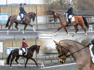 Manor Grange Stud – Affiliated Dressage 26th January 2020