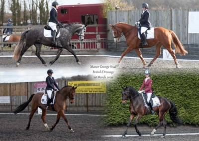 Manor Grange Stud Affiliated Dressage – 1st March 2020