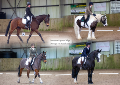 Doncaster Equine College Unaffiliated Dressage – 1st March 2020