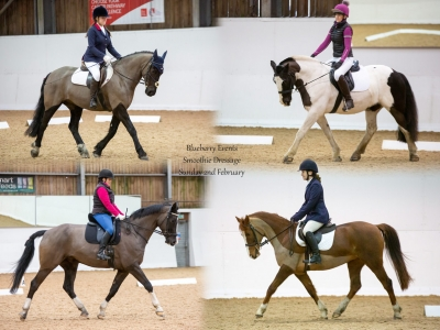 Blueberry Events Smoothie Dressage – 2nd February 2020