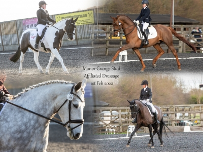 Manor Grange Stud Affiliated Dressage – Saturday 1st February