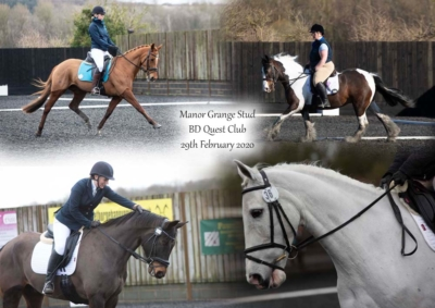 Manor Grange Stud BD Quest Club – 29th February 2020